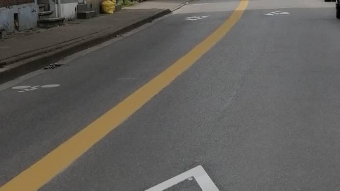 """Fietsstraten krijgen gele lijn: """"Aalst zet in op een fietsvriendelijke omgeving"""""""