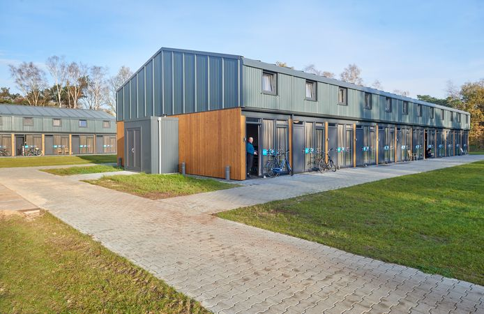 Nieuwe huisvesting van arbeidsmigranten, in dit geval bij Fercheval in Nistelrode.