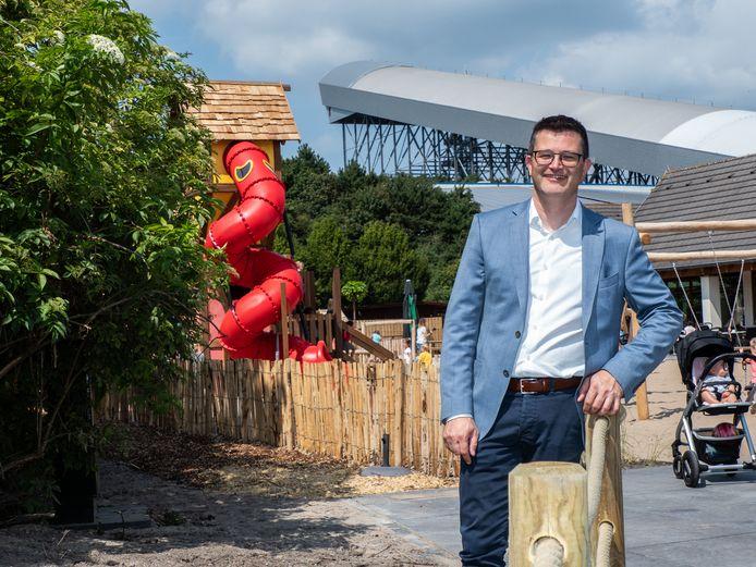 Wim Hubrechtsen, de directeur van SnowWorld bij de Zoetermeerse vestiging.