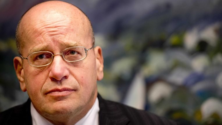 Staatssecretaris van Veiligheid en Justitie Fred Teeven. Beeld ANP