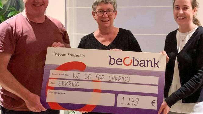 """Dirk stapt meer dan 1.000 euro bij elkaar voor Erkrido: """"Met Eric in onze gedachten"""""""