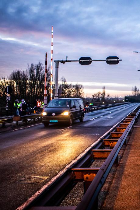 Wantijbrug gaat vrijdag precies volgens planning weer open