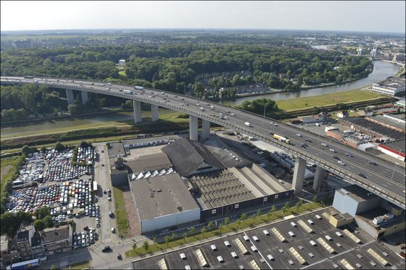 Het Viaduct van Vilvoorde. (archieffoto)