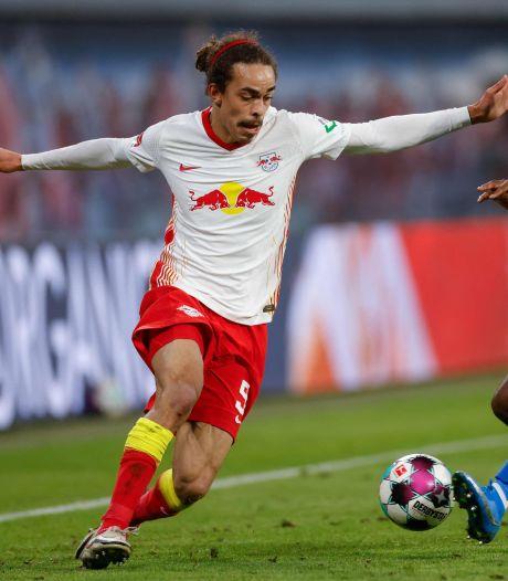 RB Leipzig lijkt druk op Bayern München te verhogen, maar goal in 96ste minuut afgekeurd