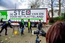 BoerBurgerBeweging op campagne in Gouda.