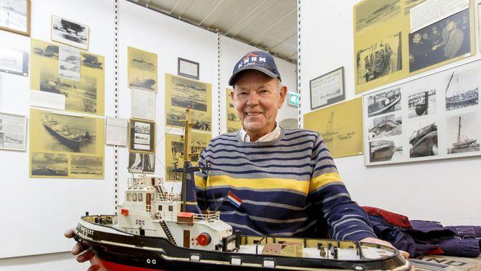 Piet Westra was geen moment bang. ,,Ik vertrouwde volledig op onze kapitein.''