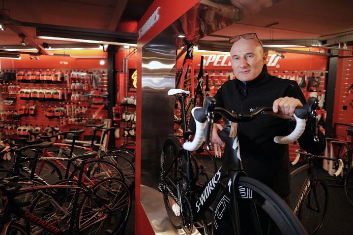 Rob van der Wal van fietsenzaak de Pedaleur.