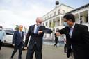 Minister Stef Blok (Buitenlandse Zaken) was in november te gast bij de viering van de Surinaamse Onafhankelijkheidsdag