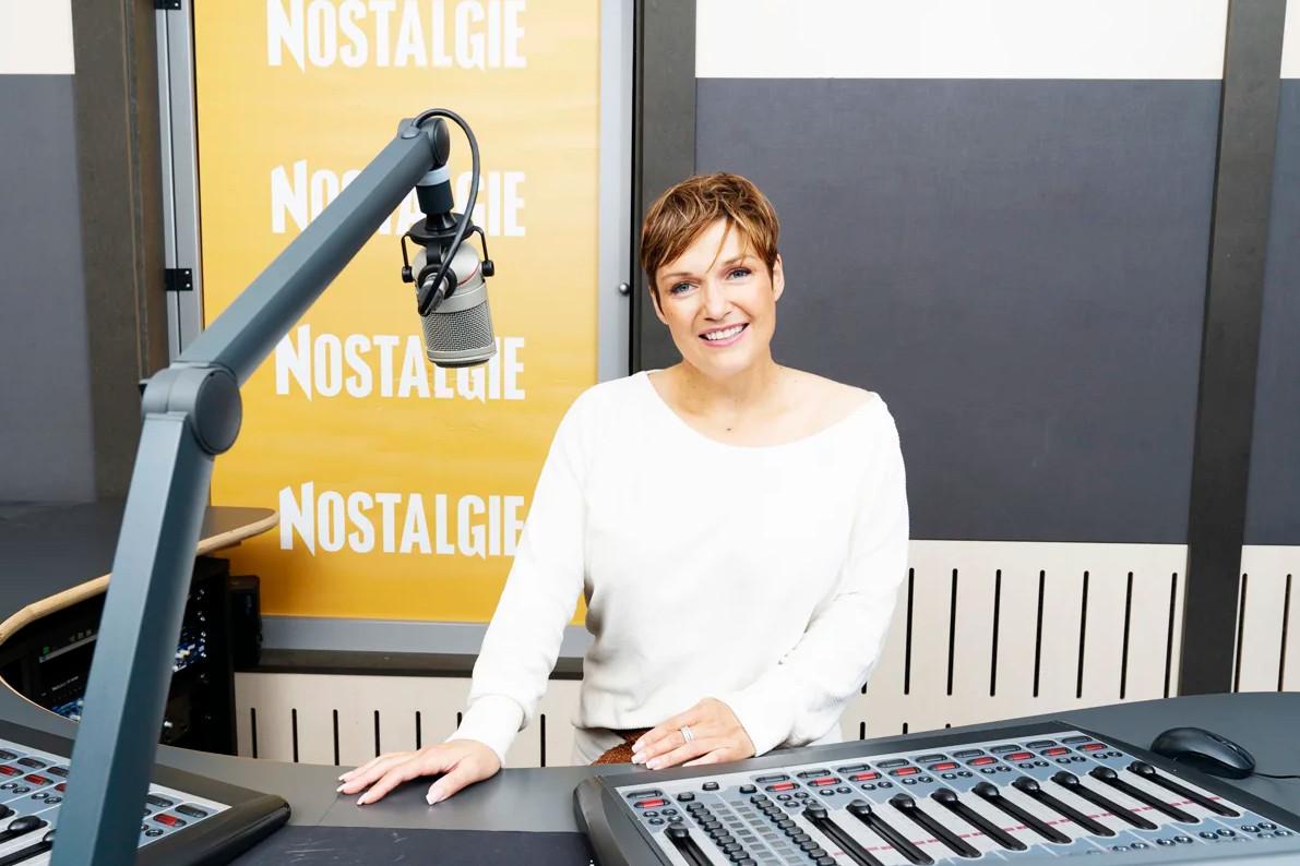 Ingrid Franssen, journaliste et animatrice sur Nostalgie.