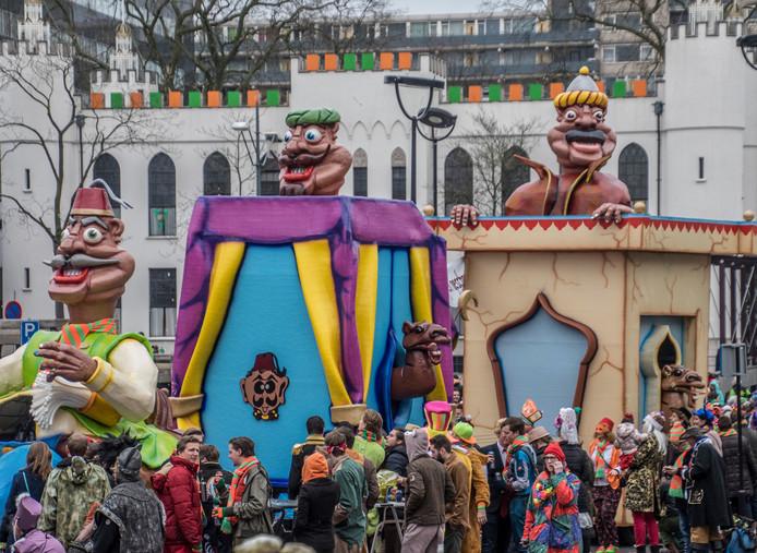 Toen Tilburg wel een carnavalsoptocht had....