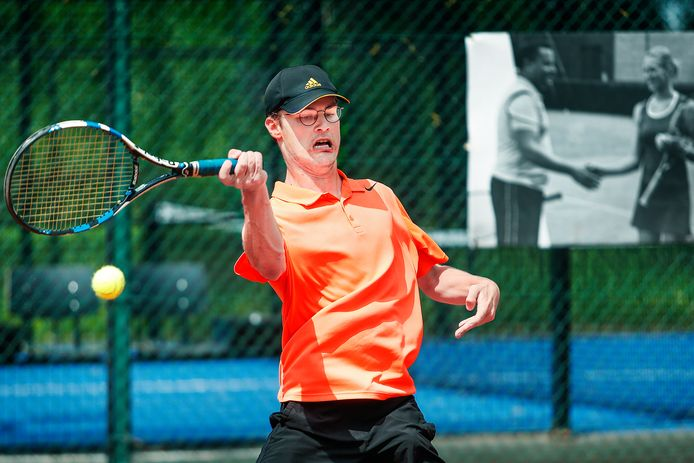 Wibo Van Poeck speelde zeer sterk op het toernooi van TC Witte Kaproenen.