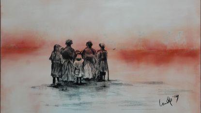 Aangrijpende tekeningen herdenken Eerste Wereldoorlog