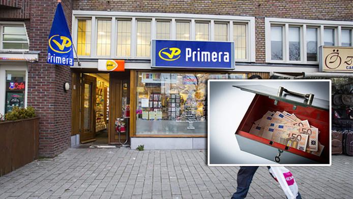 Omwonenden en winkelend publiek hadden geen idee, maar criminelen wisten deze Primera in Rotterdam-west goed te vinden