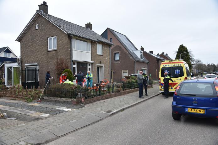 De vrouw raakte zwaargewond na tuinwerkzaamheden in Malden.