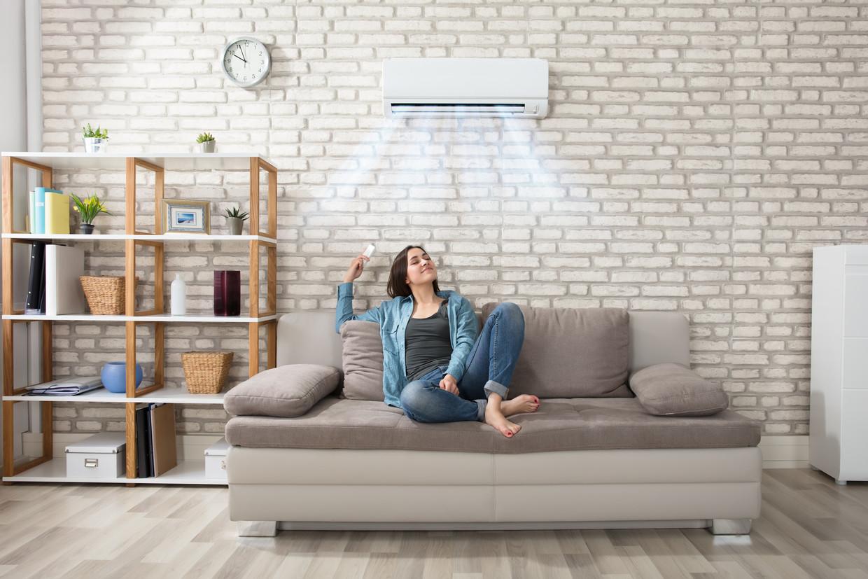 'De lucht binnen is nu schoner dan buiten.' Beeld Shutterstock