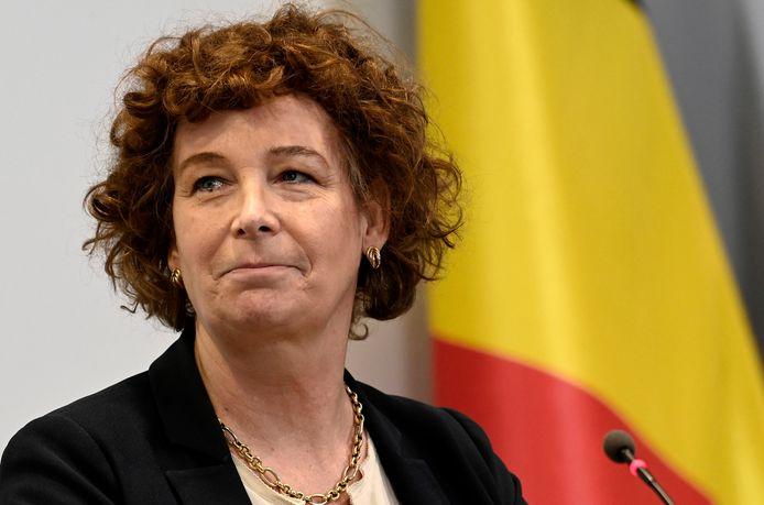 Petra De Sutter (Groen), vice-Première ministre et ministre chargée de la fonction publique