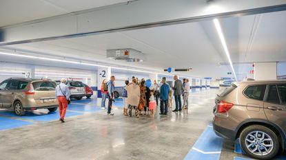 Ondergrondse parking geopend
