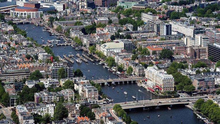 Amsterdam blijft de populairste woonplaats in Nederland. Beeld anp