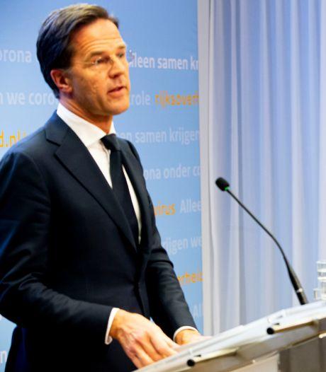 Volgens Rutte een schijntegenstelling: gezondheidszorg tegen economie