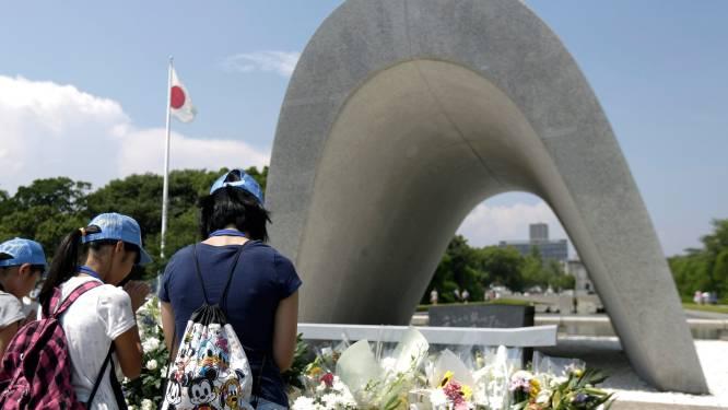 Zeventig jaar na Hiroshima verzorgt het Rode Kruis nog steeds slachtoffers