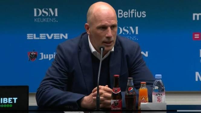 """Clement: """"Iedereen hield zich na die 1-1 aan het wedstrijdplan"""""""