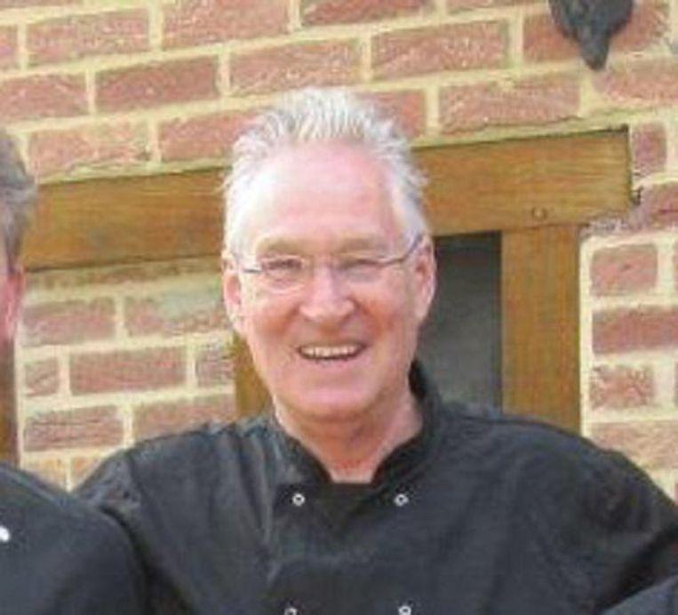 De overleden Ger Kleefman, wiens as zaterdag wordt uitgestrooid. Beeld