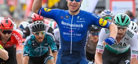 Van der Lijke in top 10 bij laatste sprint in Wallonië