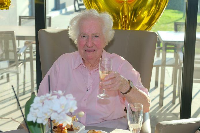 100jarige Cecile Peeters
