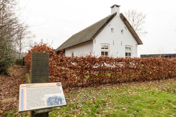 Een van de voormalige koloniewoningen in Willemsoord