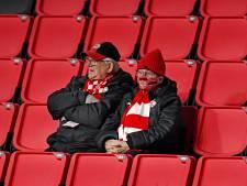 Opmerkelijk plaatje: toch nog supporters in het stadion van PSV?