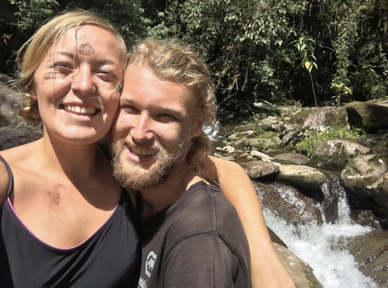 De Australische Lucas Fowler (23) en zijn Amerikaanse vriendin Chynna Deese (24).