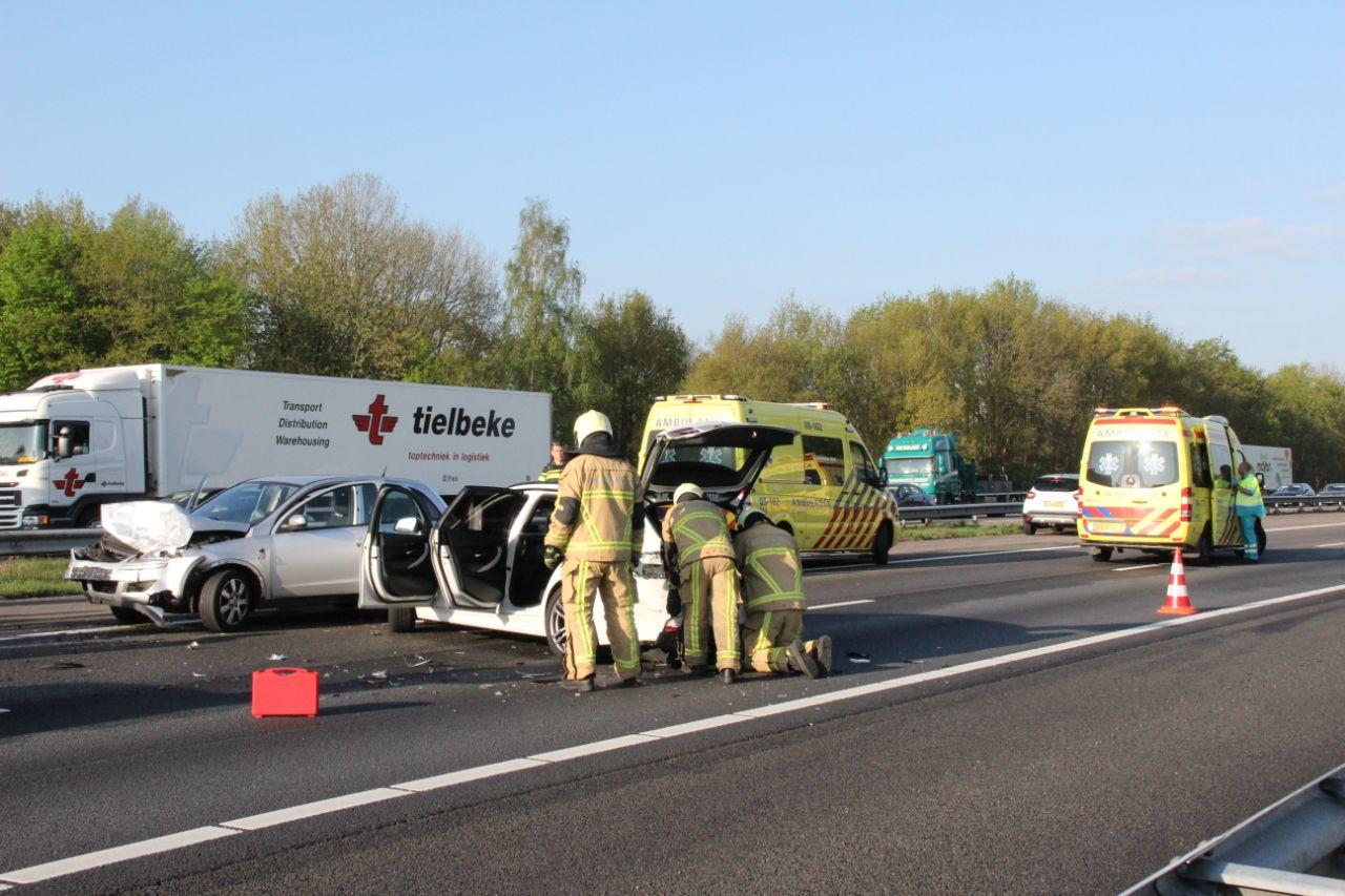 Ravage op de A1, in de buurt van Deventer.