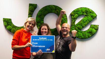 Katleen raadt lach van K3'tje en wint 12.200 euro