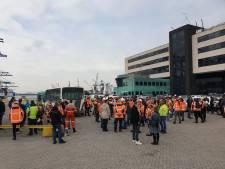 Personeel RST voert actie tegen straffen voor medewerkers en stroeve cao-onderhandelingen