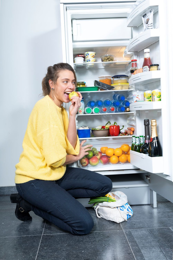 Sanne Mouha: Eet bij voorkeur seizoensfruit, want dat is vaak langer houdbaar