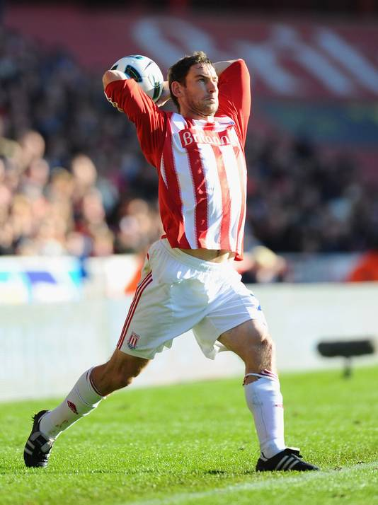Rory Delap van Stoke City. © GETTY