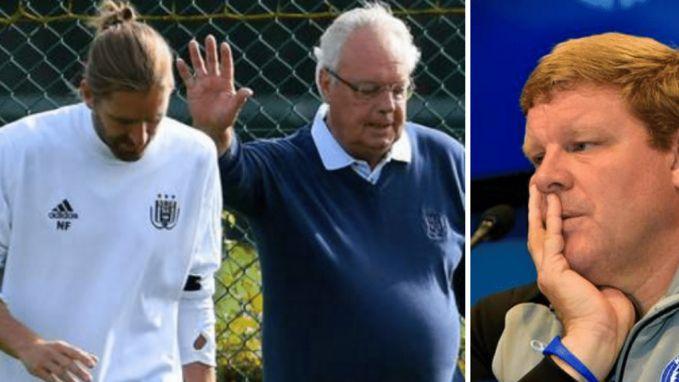 Anderlecht is rond met Hein, Frutos twijfelt aan toekomst