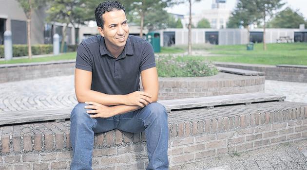 Abdessamad Bouabid: 'Marokkanen zijn vaak negatief in het nieuws Dat trek ik me aan.' FOTO JAN DE GROEN