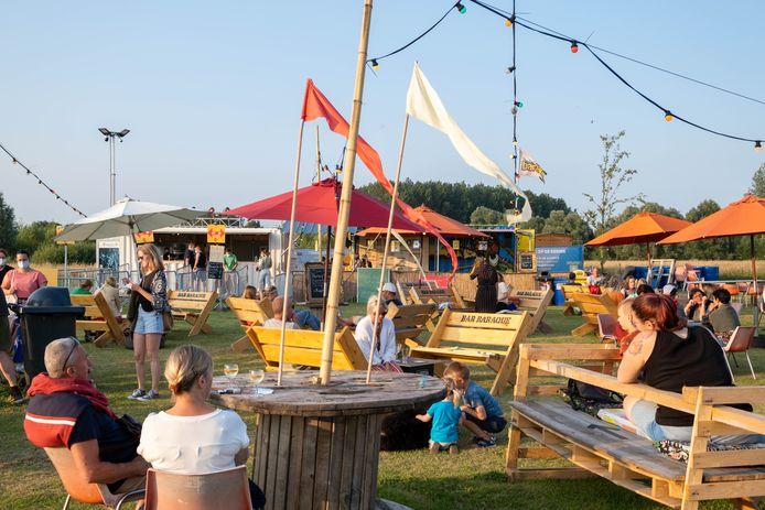 Bar Baraque in het Landschapspark Fort Liezele.
