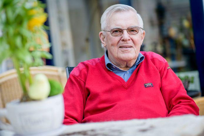 Benny Oltwater zag als 7-jarige hoe de geallieerde troepen op 1 april 1945, 75 jaar geleden, Haaksbergen binnentrokken.