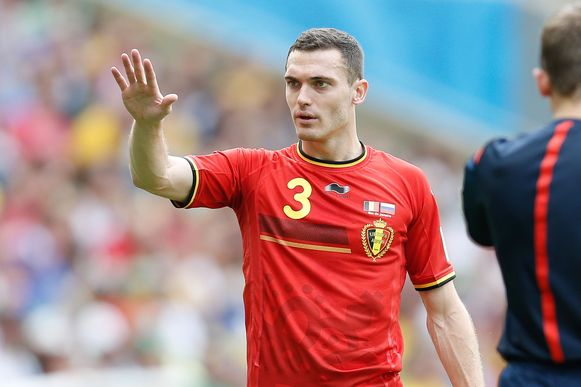 Thomas Vermaelen is er voor het eerst sinds het WK in 2014 opnieuw bij.