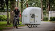 """Limburg experimenteert met uitschuifbare caravan: """"Ideaal voor achter de fiets... hopen we"""""""
