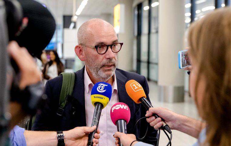 Joost Lagendijk mag al ruim twee jaar niet terug naar zijn vrouw in Istanboel Beeld anp