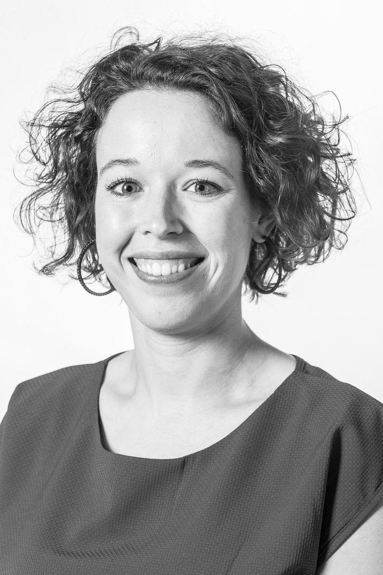 Femke Roosma, raadslid voor GroenLinks in Amsterdam Beeld Rink Hof
