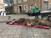 Enkel de basiliekklokken beieren bij klimaatalarmprotest in Oudenbosch