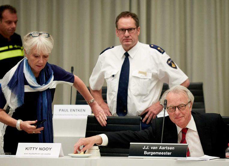 Politiechef Paul Van Musscher Beeld anp