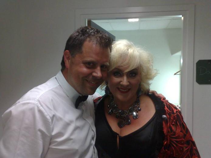 Robert Siemes met Karin Bloemen.