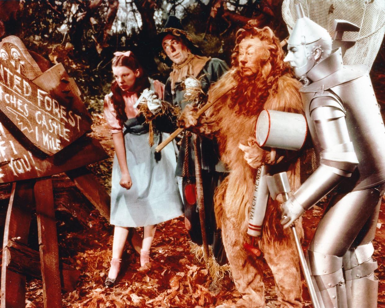 'The Wizard of Oz' met Judy Garland won in 1940 twee Oscars, beide voor de filmmuziek. Beeld Getty Images