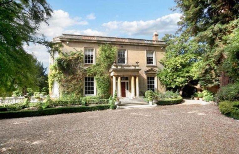 Het huis van George en Amal in Berkshire Beeld getty