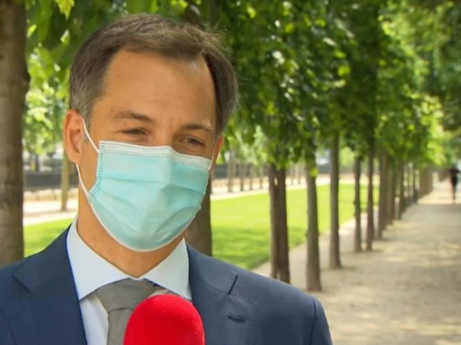 """Premier De Croo over loonakkoord: """"Twintigers en dertigers van vandaag gaan hier niet voor betalen"""""""